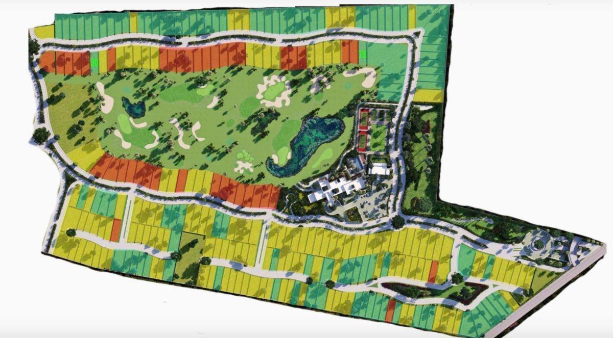 promociones por contingencia en la privada provincia   campo de golf + casa club