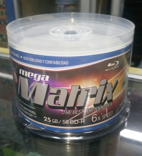 promocioneslafamilia blu ray disc printable 25gb mega matrix