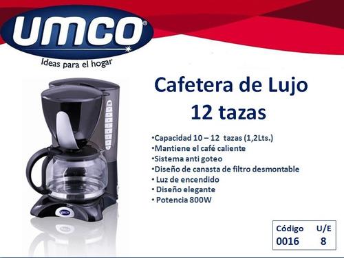 promocioneslafamilia cafeteras umco original 12 tazas $35,00