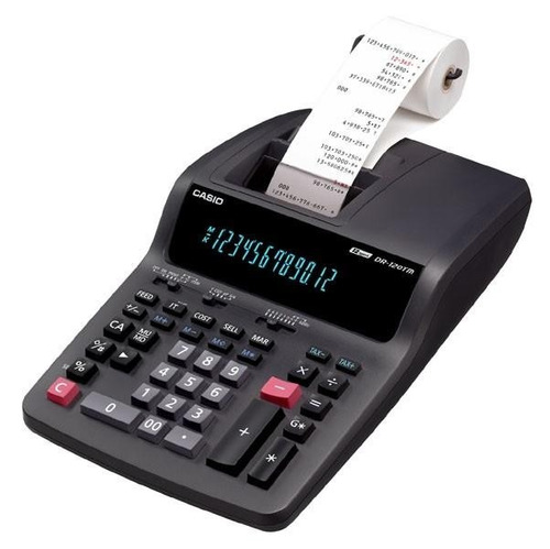 promocioneslafamilia calculadoras casio dr-120tm impresora