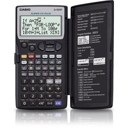 promocioneslafamilia calculadoras casio fx-5800p originales