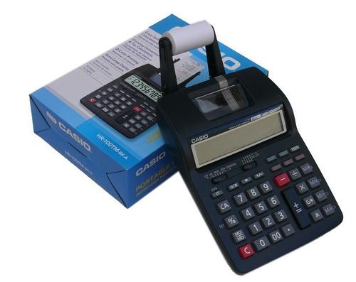 promocioneslafamilia calculadoras casio hr-100tm impresora