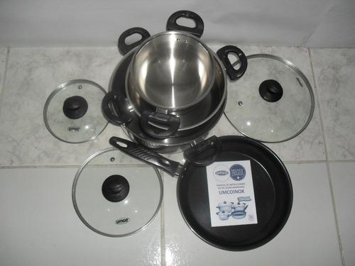 promocioneslafamilia juegos ollas umco cocinas inducción gas