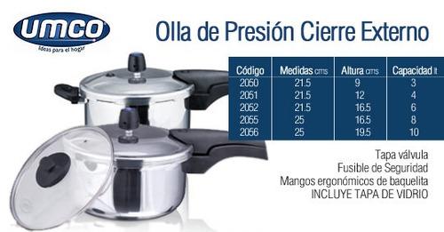 promocioneslafamilia ollas de presión 3 litrs 2 tapas $39,00