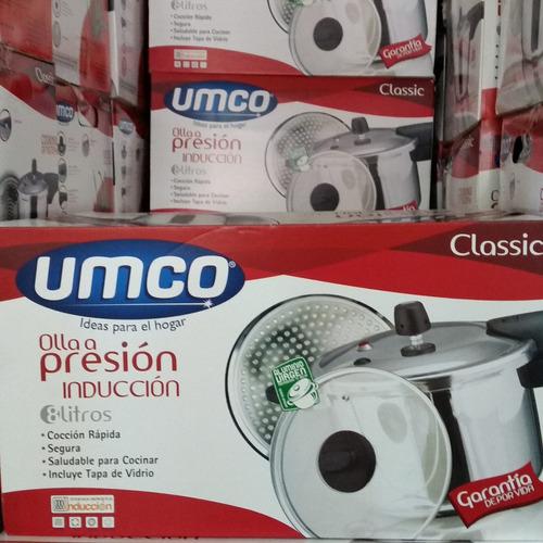 promocioneslafamilia ollas presión cocinas inducción 8 litro
