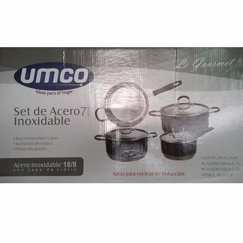 Promocioneslafamilia set de ollas para cocinas de for Cocina induccion precio