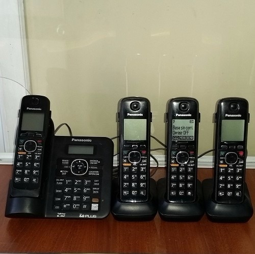 promocioneslafamilia teléfonos panasonic con 4 ariculares