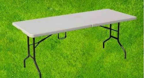 promocion!!!mesa plegable tipo maletín para banquetes