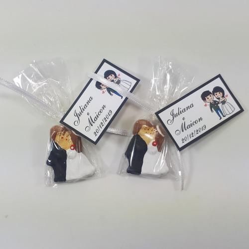 promoção!!! 100 noivinhos lembrancinhas de casamento com imã