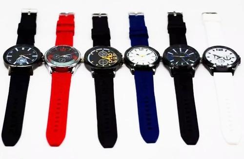 promoção 15 relógios masculino atacado revenda lote + caixa