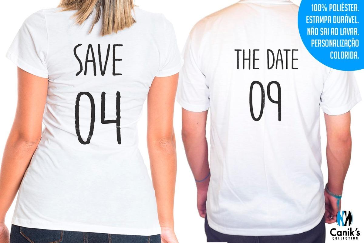 452b3652b promoção - 2 camisas personalizada - noivos ano do sim. Carregando zoom.