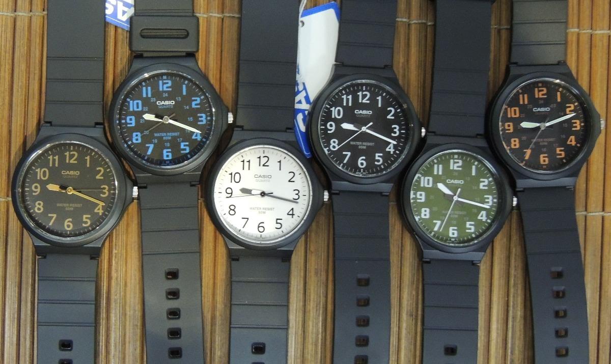 3d94338fc82 Promoção  2 Unidades Relógio Casio Mw-240 - Nf E Garantia - R  220 ...