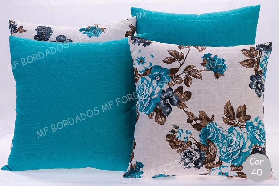 0496accbf promoção 4 capas de almofadas decorativas lisas e estampadas. Carregando  zoom.