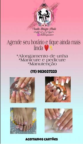 promoção alongamento de unhas