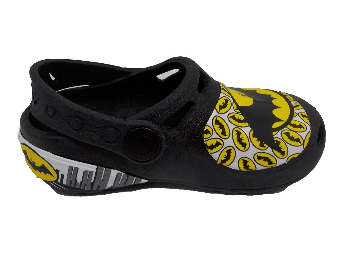 65ef41cc58 promoção babuche crocs infantil meninos batman. Carregando zoom.