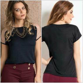 3d97d5f2c Blusa Tule Tamanho G - Calçados, Roupas e Bolsas no Mercado Livre Brasil