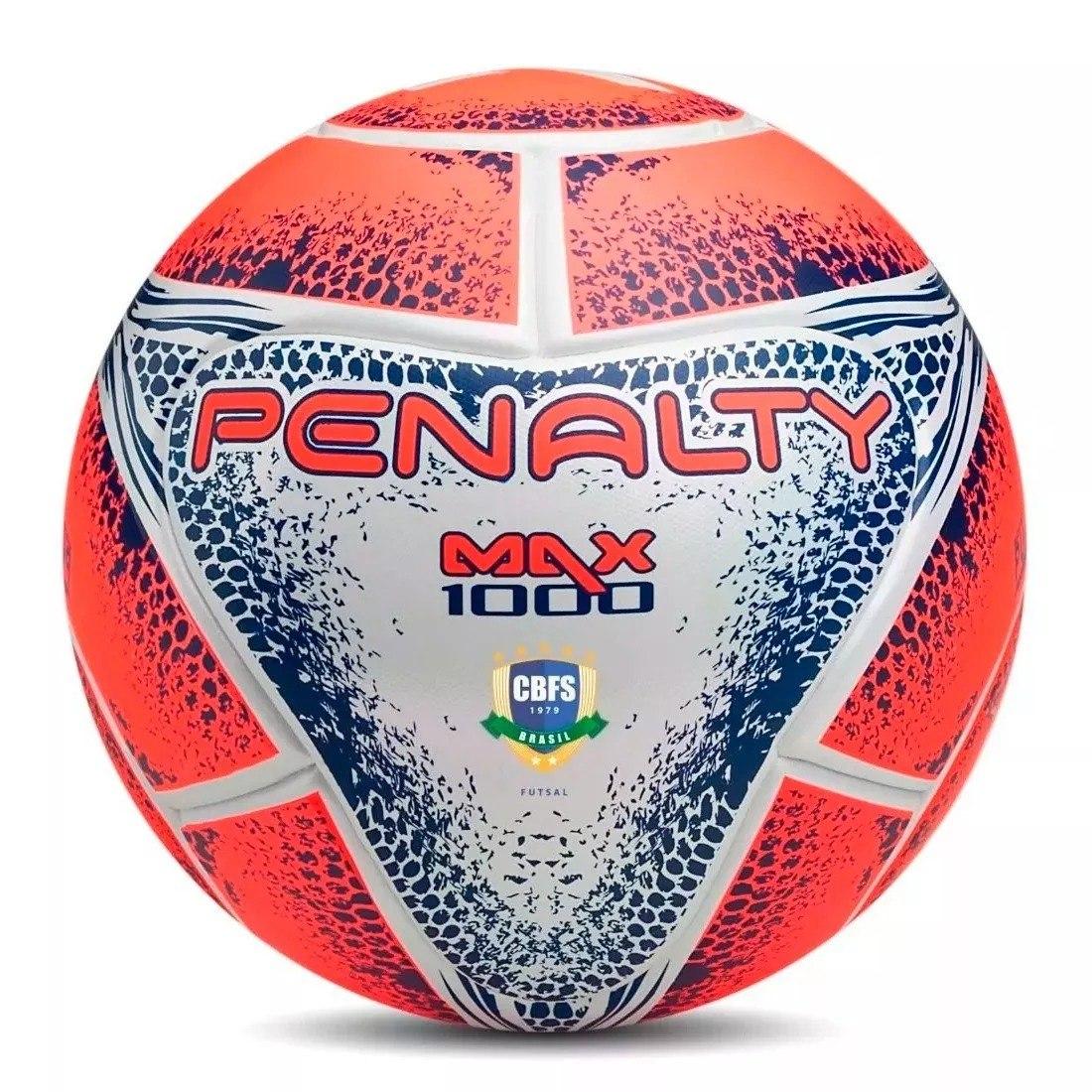 bc2d1f7d7d promoção  bola de futsal max 1000 penalty. oficial! Carregando zoom.