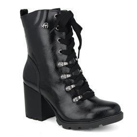 45bc0471e1 Promoção Bota Ankle Boot Coturno Feminino Via Marte 18-2601