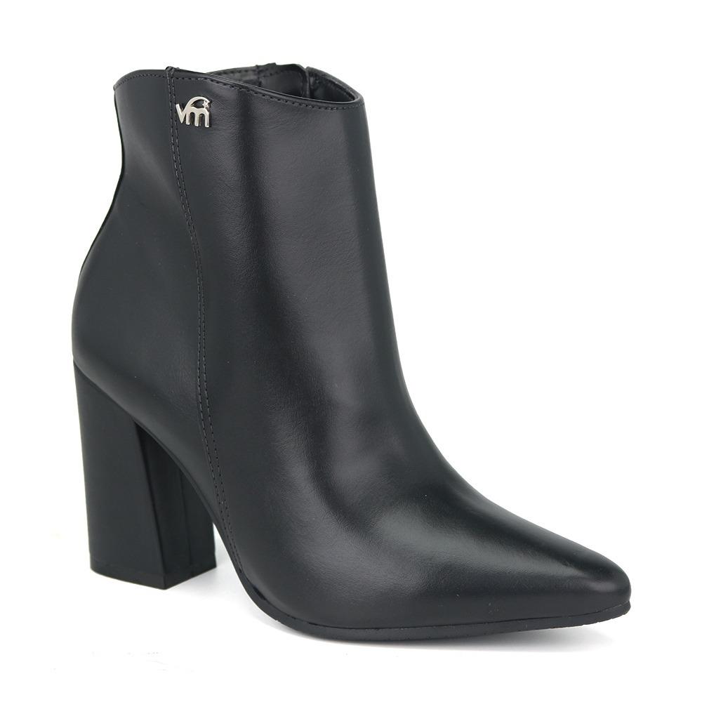 c22d066f26 promoção bota cano curto feminino via marte 18-106 preto. Carregando zoom.