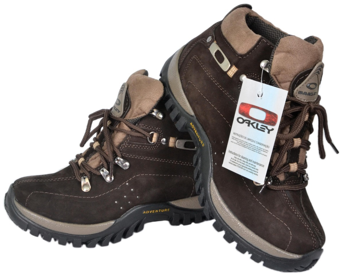 promoção - bota coturno adventure oakley original marrom. Carregando zoom. 12d3d9097c9