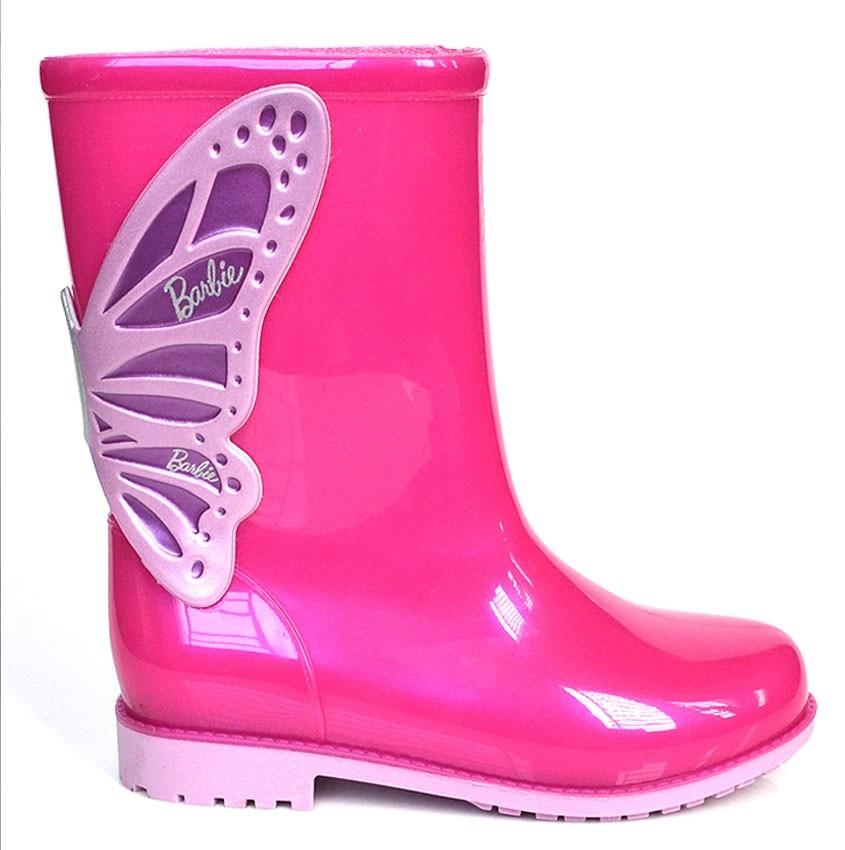 49ff8509594 promoção bota galocha menina barbie pink 21564. Carregando zoom.