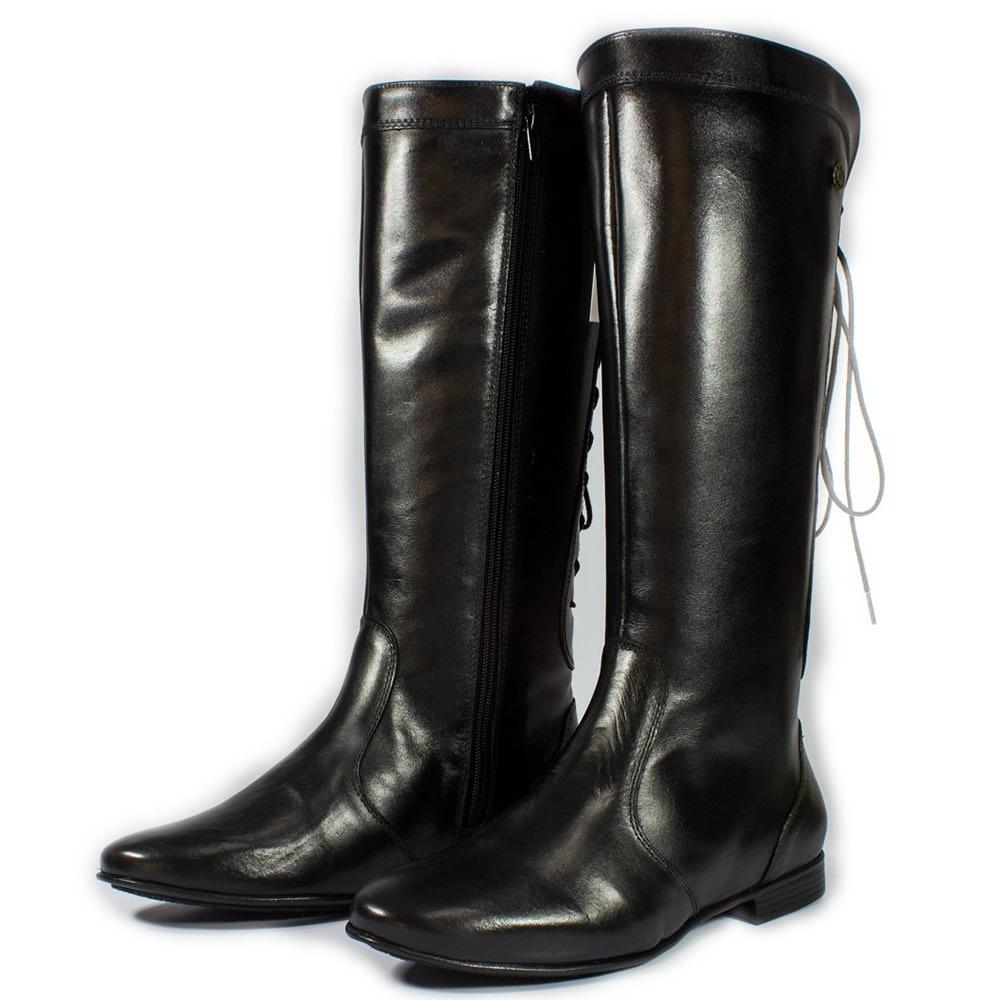 55cf54d42 promoção bota montaria feminina cano longo 100% couro 121. Carregando zoom.
