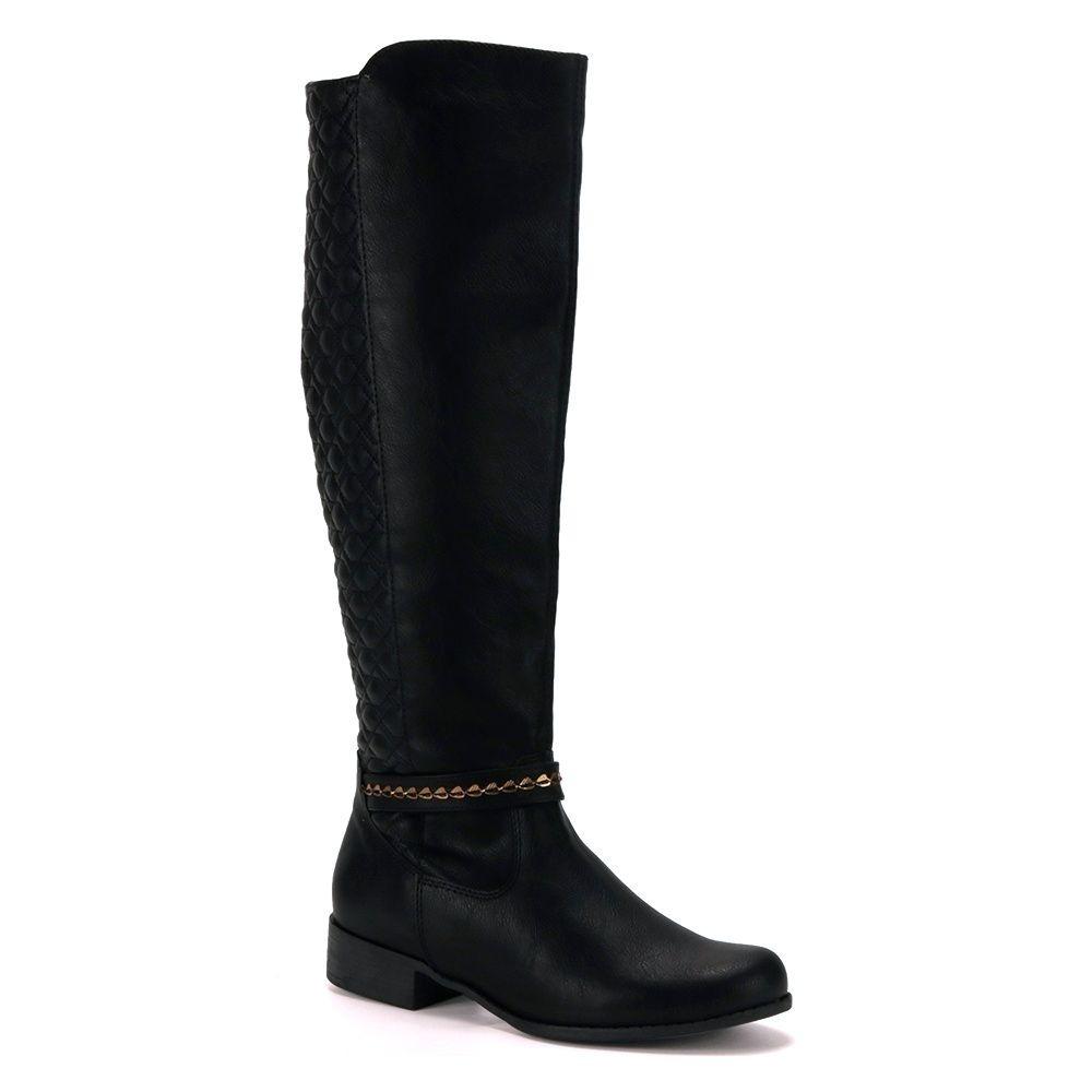 8cd6ded2a7e87 promoção bota montaria feminina via marte 17-404 preto. Carregando zoom.