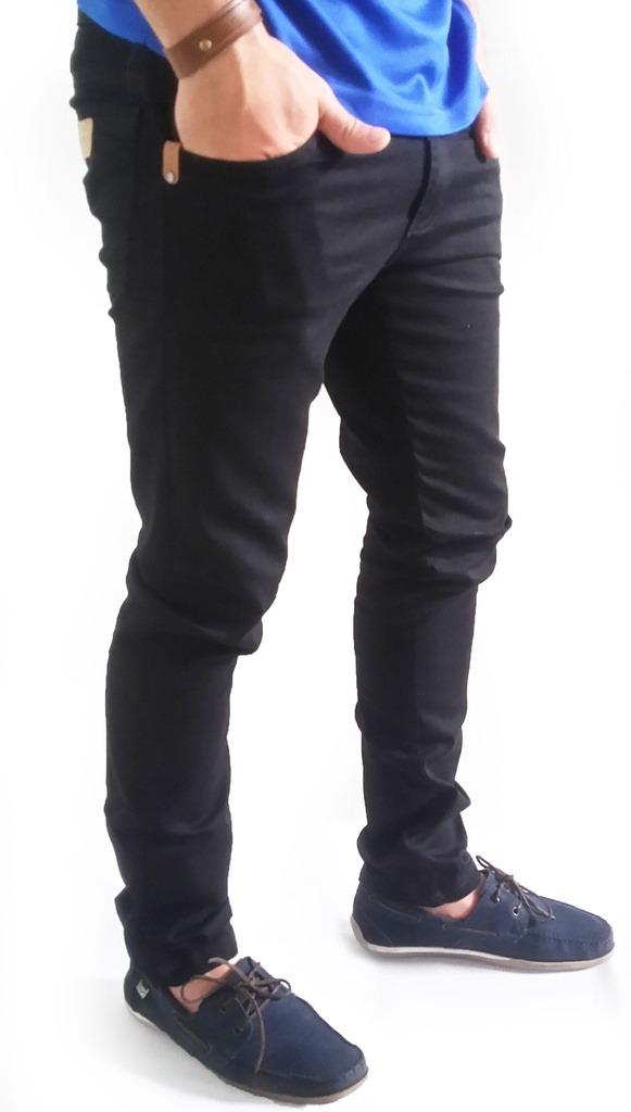 promoção calça masculina sarja c elastano skinny hard jeans. Carregando  zoom. 2b2ea339878