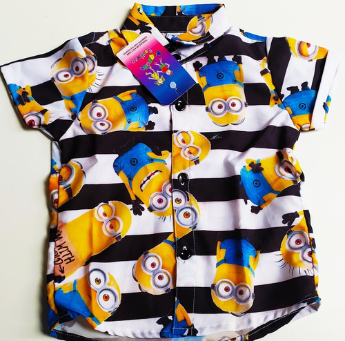 promoção camisa dos minions temática