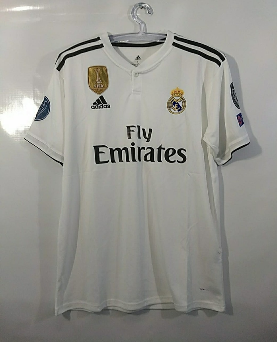 1a1192599c114 promoção-camisa original oficial do real madrid-temp. 18 19. Carregando zoom .
