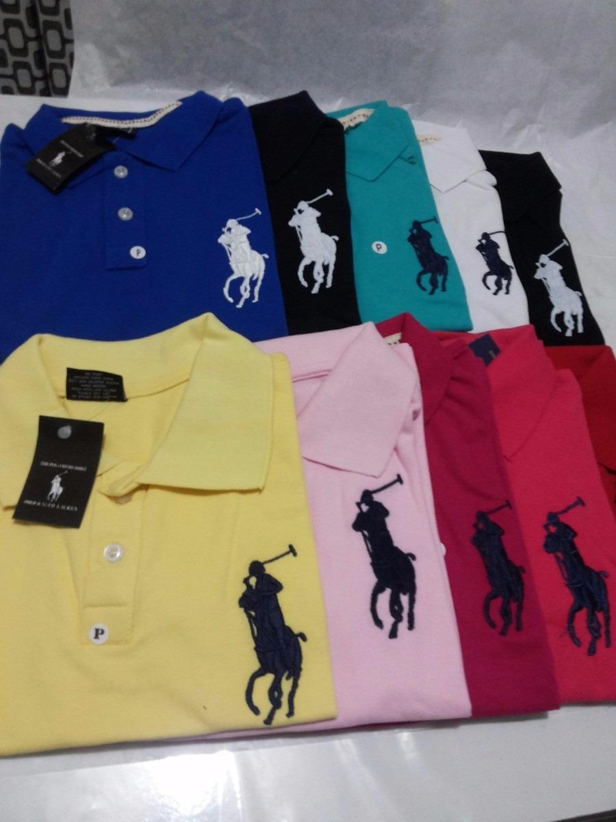 faa5dd0cc1332 promoção camisa polo feminina ralph lauren diversas cores. Carregando zoom.