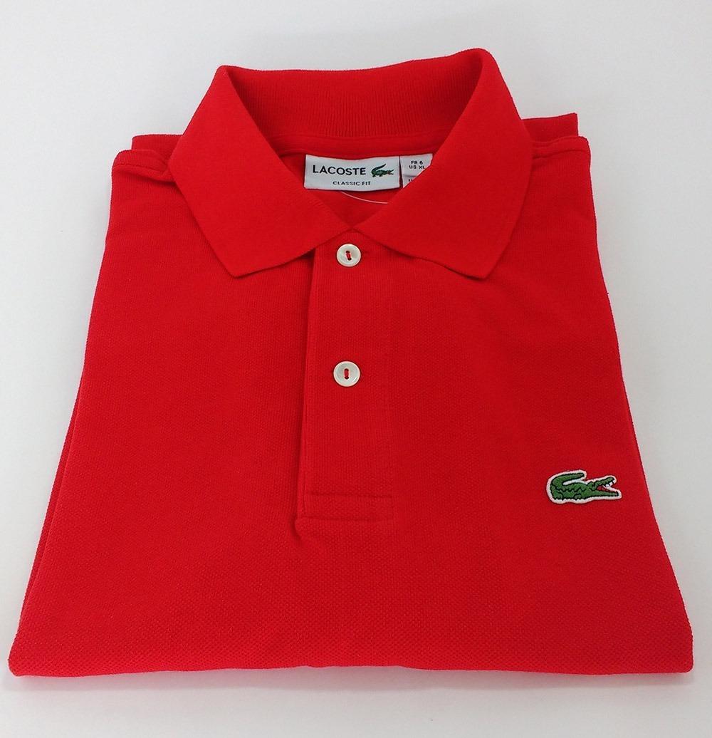 promoção camiseta polo basica lacoste original cotton pima. Carregando zoom. 51c38a6d07
