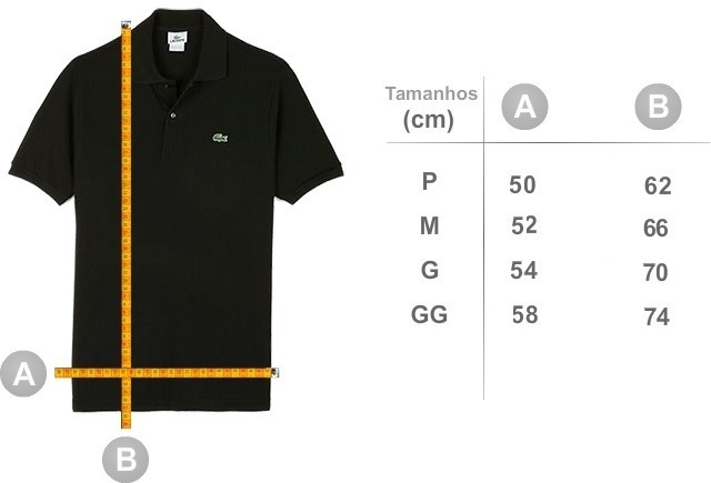 Promoção Camiseta Polo Basica Lacoste Original Cotton Pima - R  149 ... 5a278c6c04