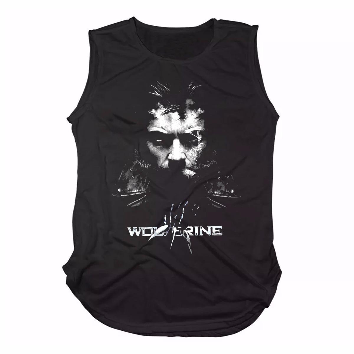 0dd83e8cf6 promoção camiseta regata long line wolverine logan fumando. Carregando zoom.