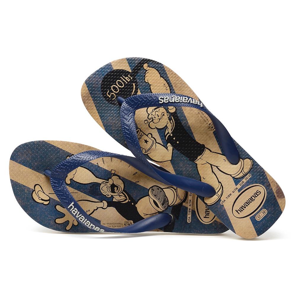 c8042c1ef promoção chinelo havaianas masculino popeye azul 43/44. Carregando zoom.