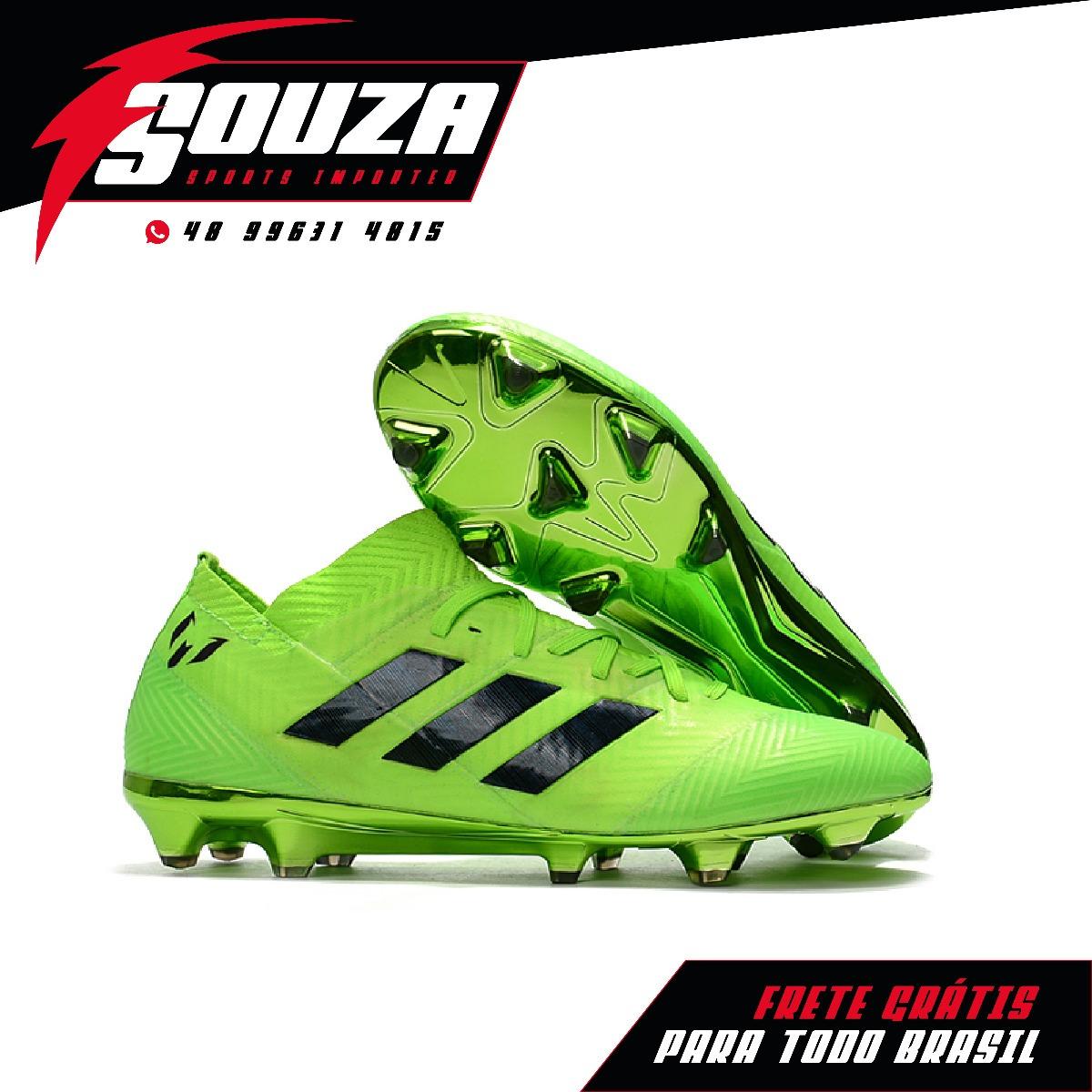 Promoção - Chuteira adidas Nemeziz 18.1 Fg - R  350 28498c69fd96f