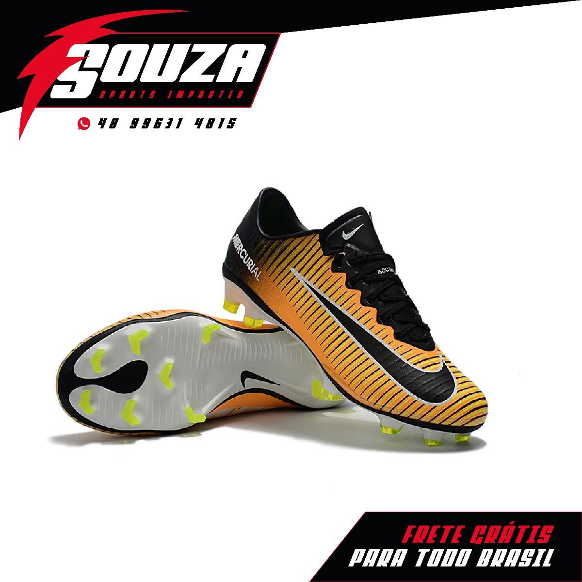 Promoção - Chuteira Nike Mercurial Vapor Xi Fg - Pronta Entr - R ... 662fbbeac454a