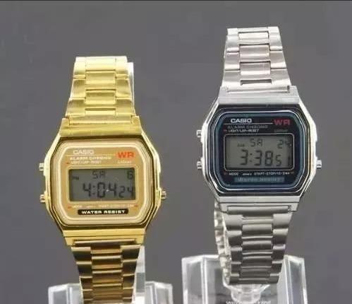 4de107c4ae5 Promoção Combo Relógio Casio Dourado Prata Frete Grátis 6pçs - R ...