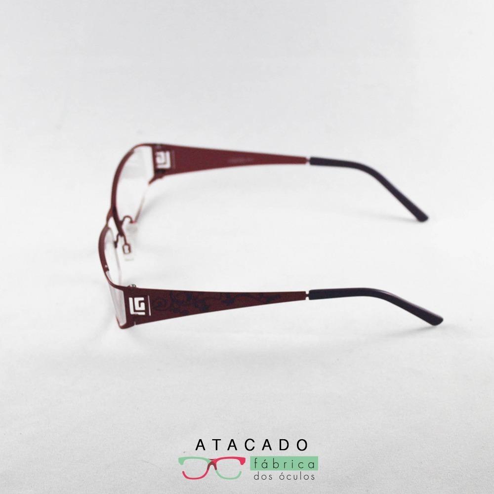 f8d1e4b6488c9 promoção de ano novo armação óculos luciana gimenez vermelho. Carregando  zoom.