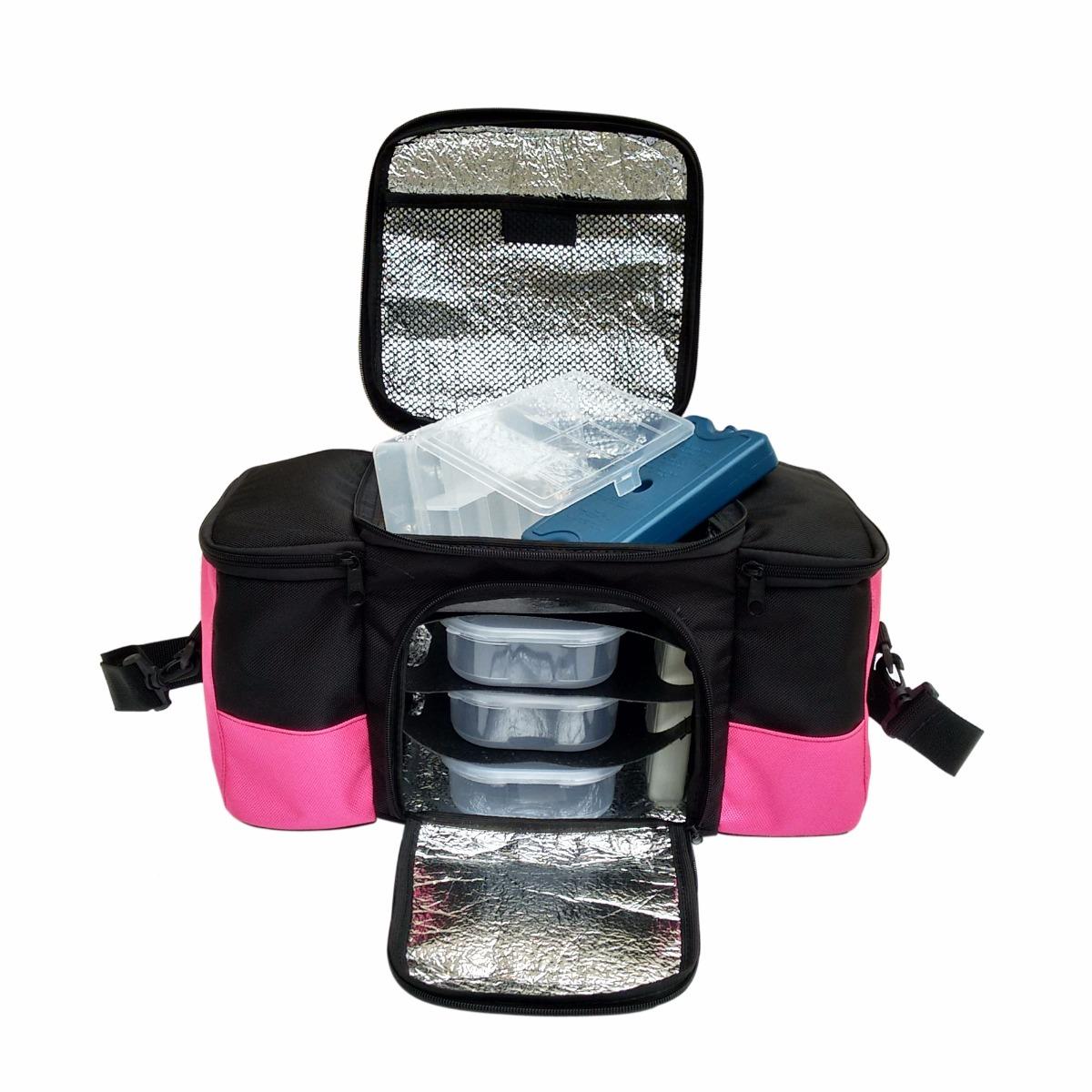 promoção de bolsa térmica lunch bag king force. Carregando zoom. 52fcb573988