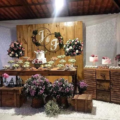 promoção de buffet e decoração