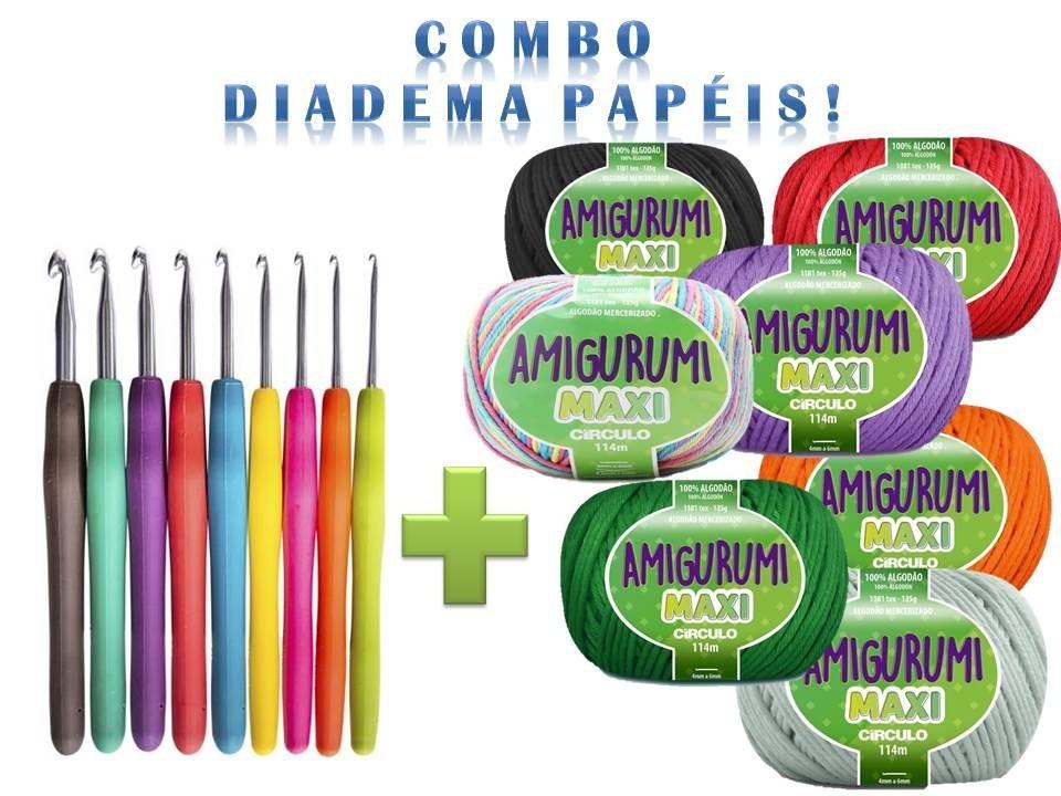 Kit Imperdível! 25 Linha Amigurumi + Agulha Soft + 4 Brindes - R ...   720x960
