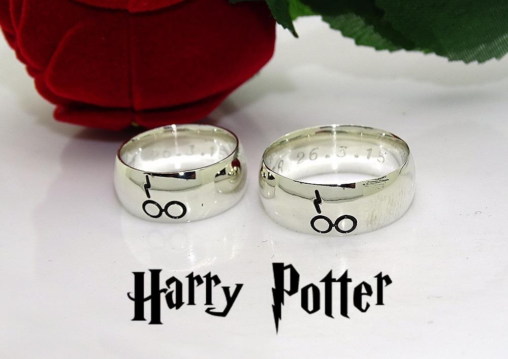 c9e9a88cbd8cc Promoção Dia Dos Namorados Aliança Harry Potter Para Namoro - R  149 ...
