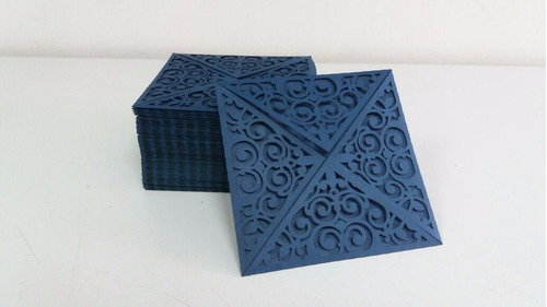 promoção envelope p/ convite - corte laser