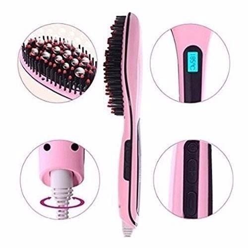 promoção escova alisadora chapinha cabelo magic elétrica