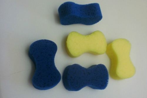 promoção esponja para lavar carro ( kit com 100 peças )