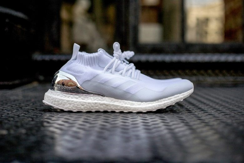 Promoção Frete Grátis adidas Ultra Boost Mid White Silver