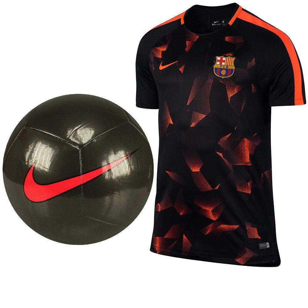 b8c3cffdb3245 Promoção Futebol Nike Camisa Fc Barcelona Top + Bola Campo! - R  249 ...