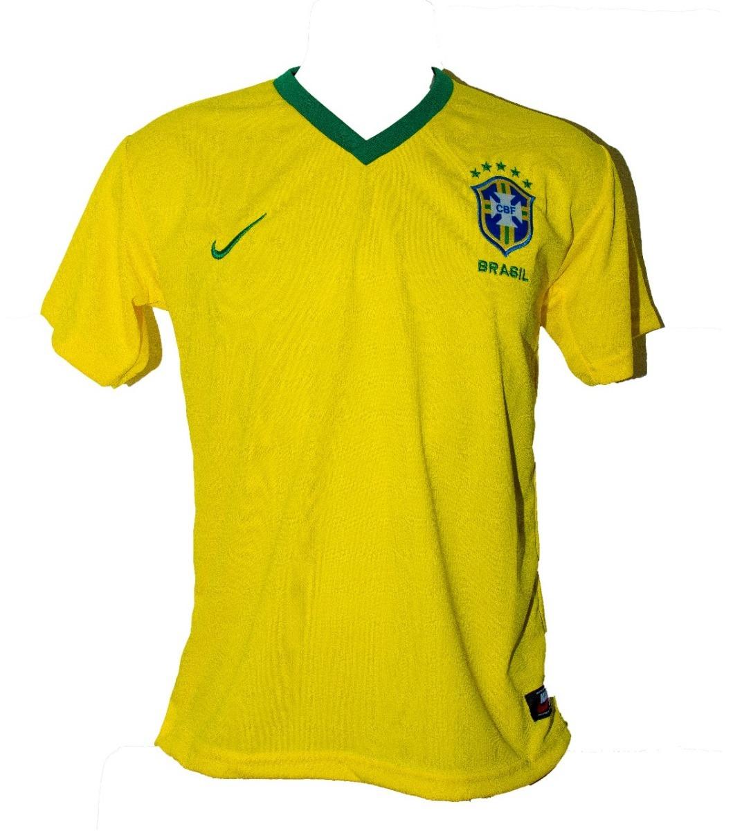 Promoção Kit 5 Camisa Da Seleção Brasileira Brasil - R  119 dae9e8ebf092f