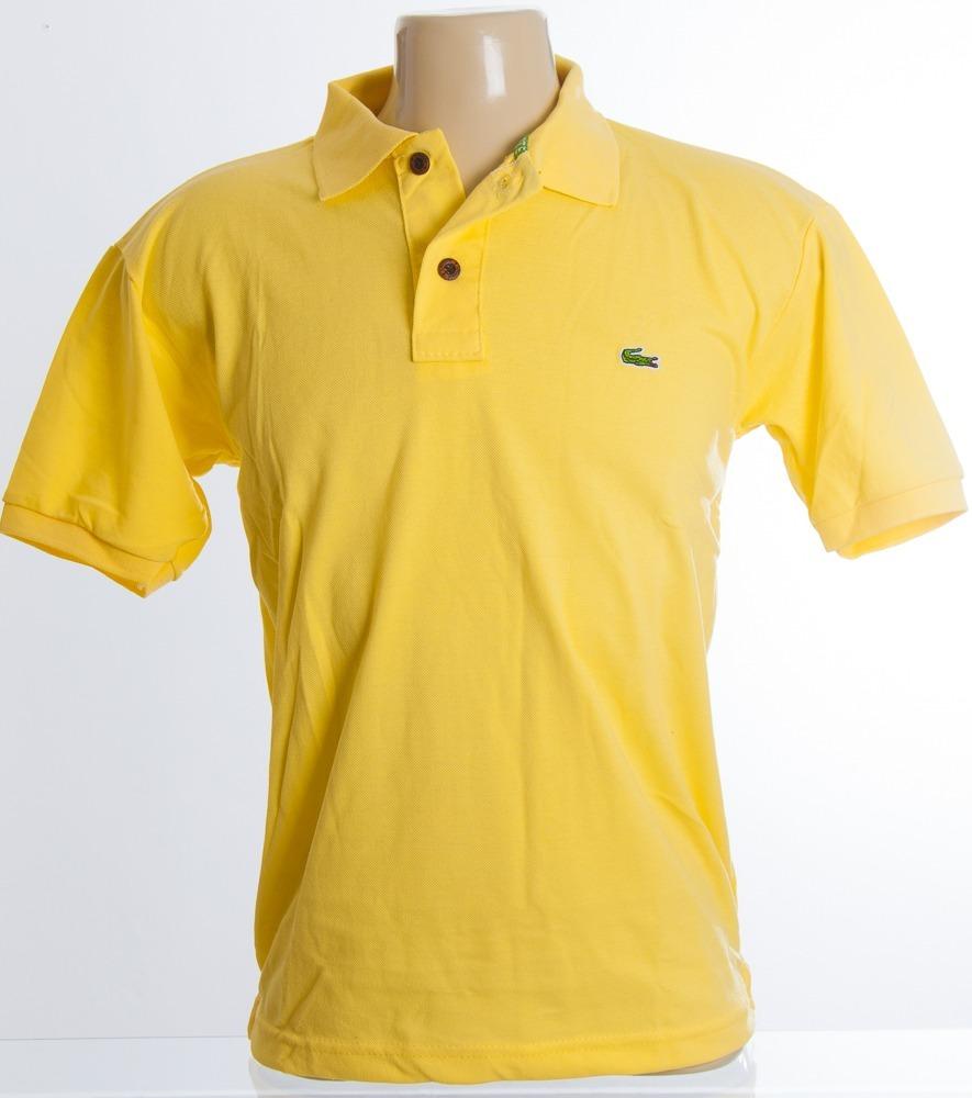 742e8eb515065 promoção kit 5 camisa polo lacoste masculina botão madeira. Carregando zoom.